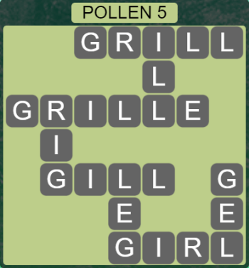 Wordscapes Level 4933 Answers