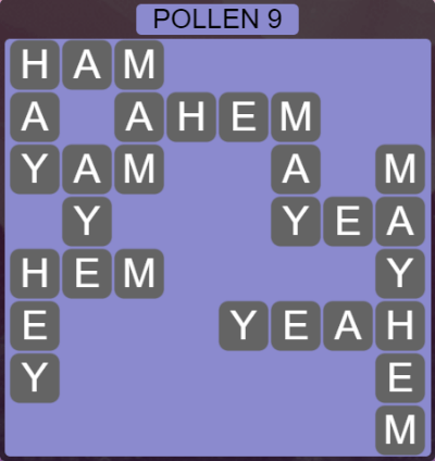 Wordscapes Level 4937 Answers